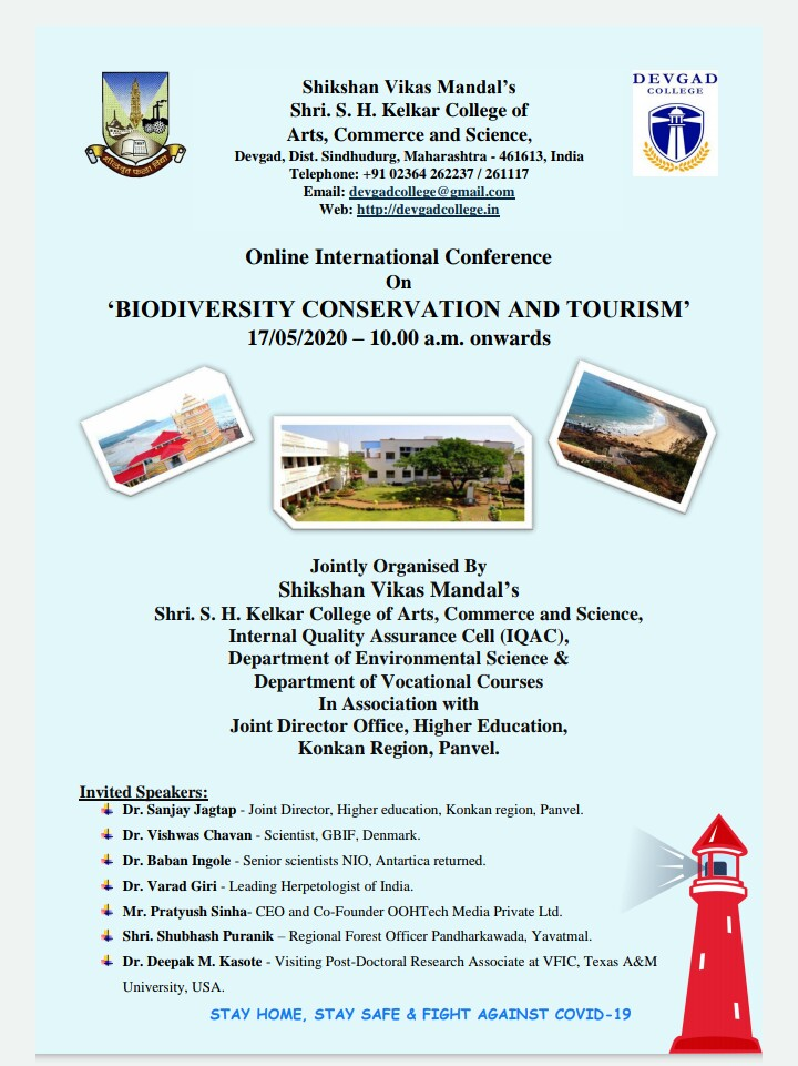 """*Online International Conference* on *""""Biodiversity Conservation and Tourism""""*"""
