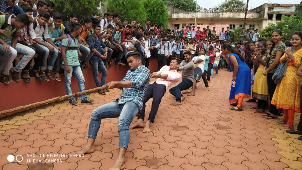Inter Class Competition – Tug Of War