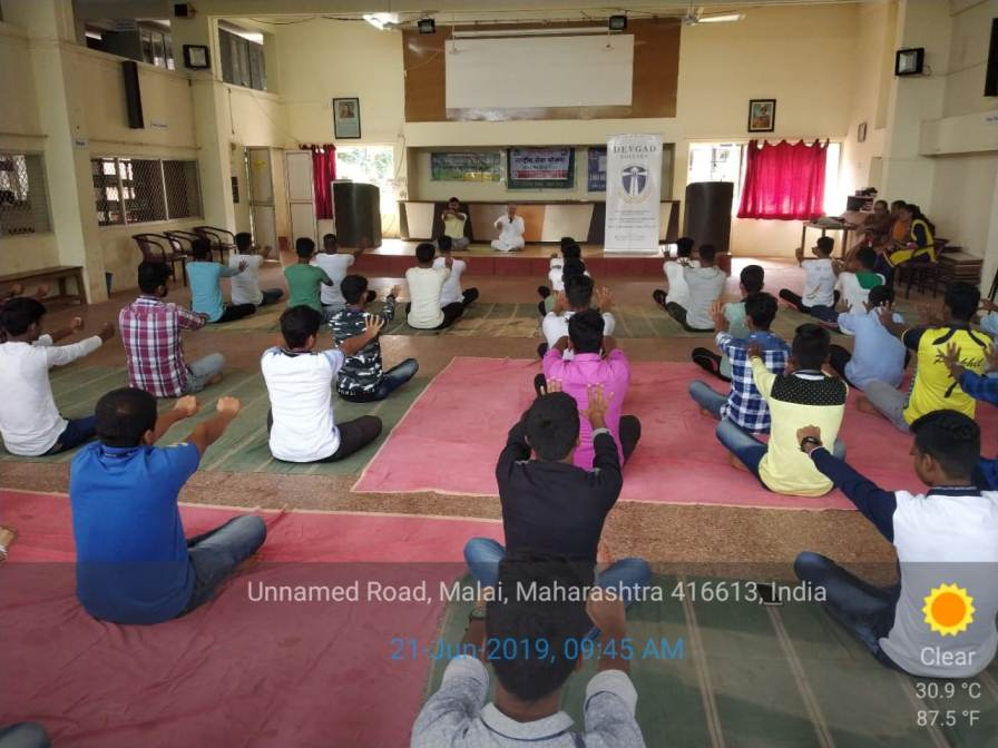 International Yoga Day Celebration