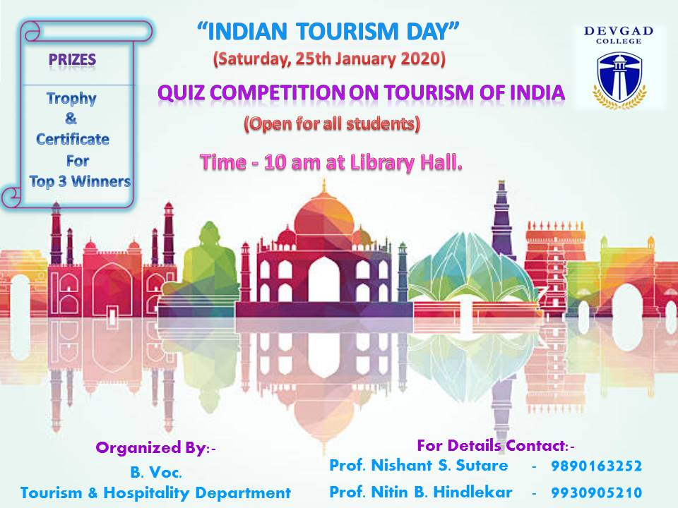 INDIAN TOURISM DAY